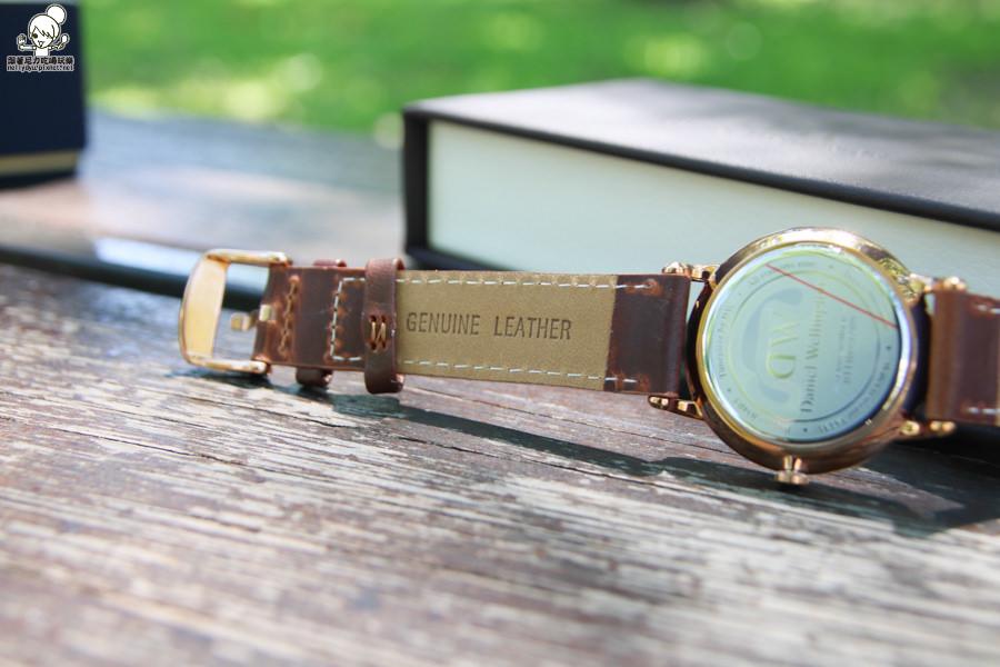 DW手錶 精品 皮革 白色-5806.jpg