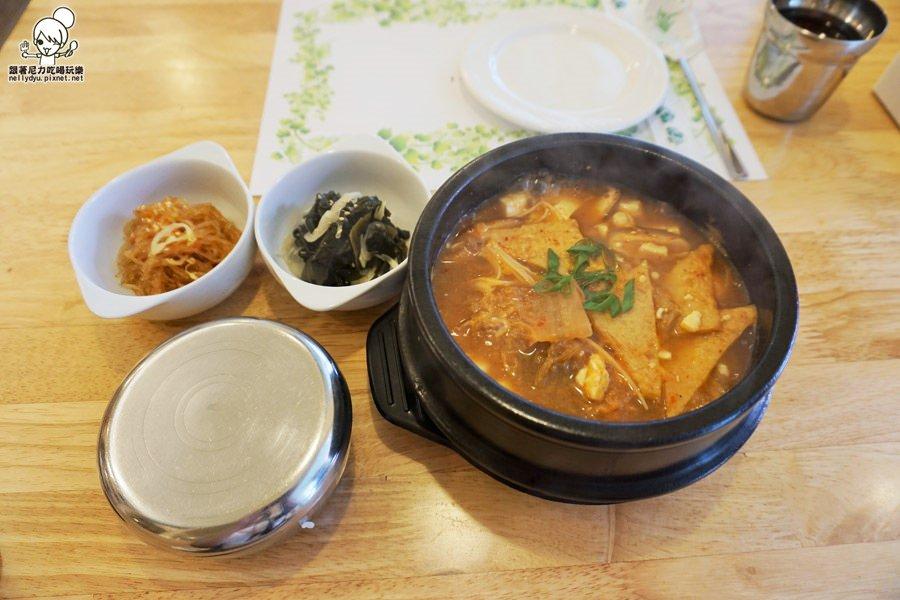 慢慢韓食堂  韓國料理11.JPG