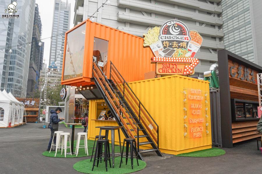 台中UNO貨櫃屋市集 台中景點 台中旅遊 貨櫃 彩色貨櫃