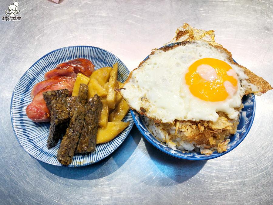 吉林夜市 阿火豬油拌飯 古早味 小吃