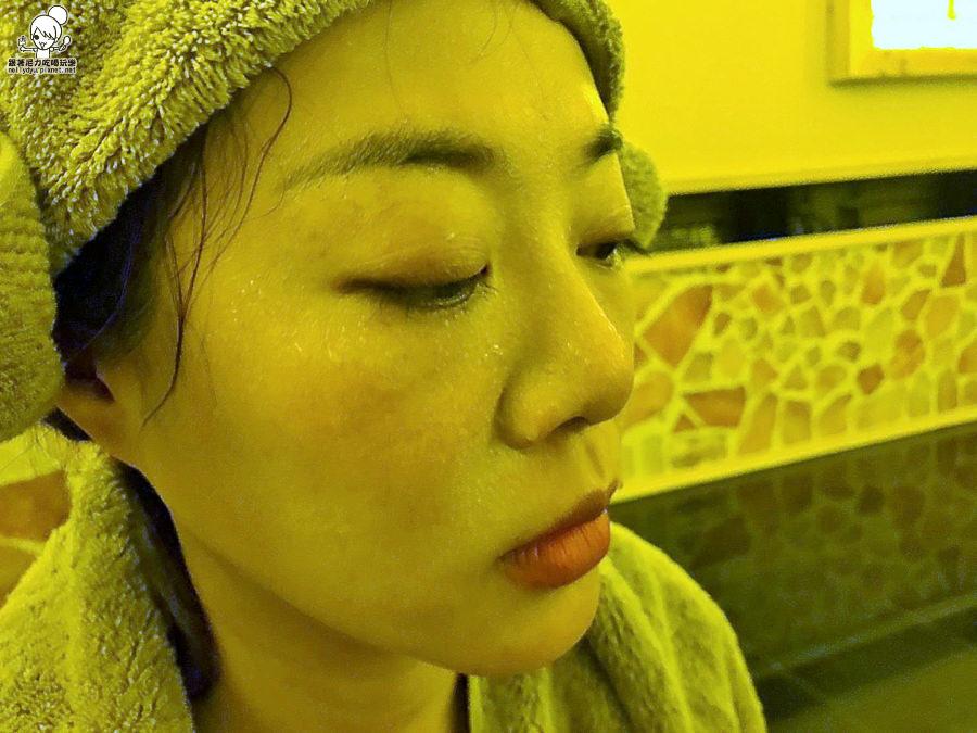 汗蒸 韓國 躺 汗水 排毒 能量 健康 瘦身