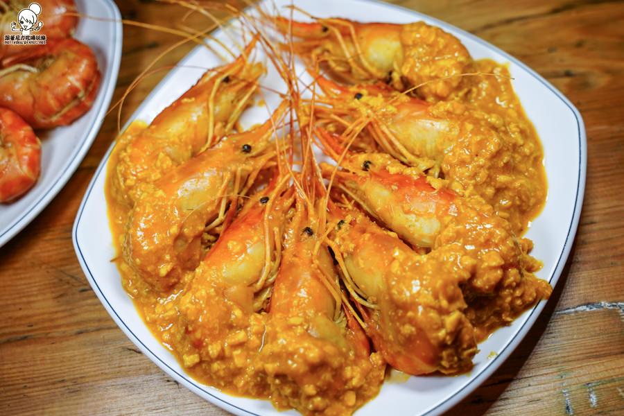 欣榀活蝦料理食堂 活蝦 泰國蝦 獨門 特色 好吃 推薦 高雄 必吃