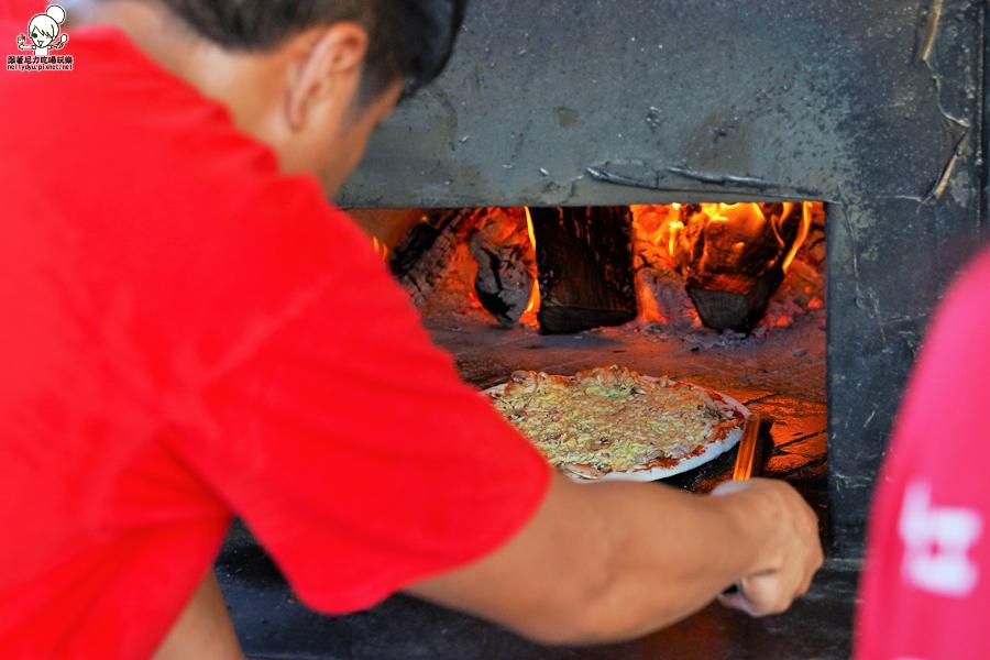 墾丁美食 親子 披薩 手工 窯烤 超人氣 排隊 恆春 旅遊 必吃
