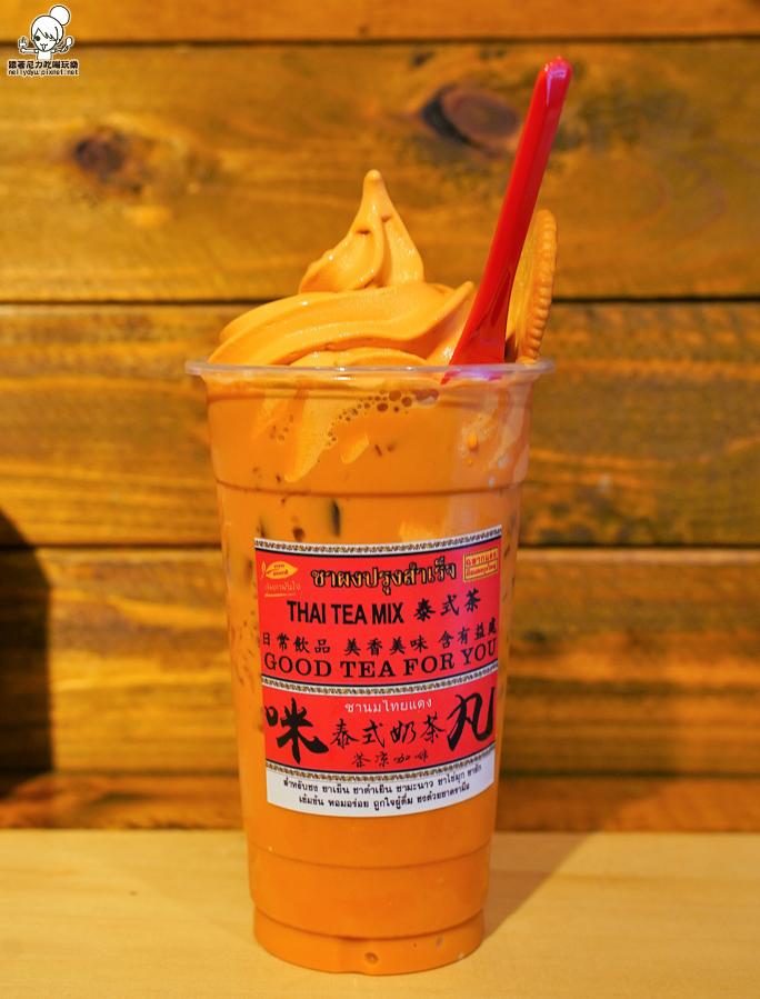 潮州美食 泰式奶茶 泰奶 漂浮 超夯 人氣 排隊