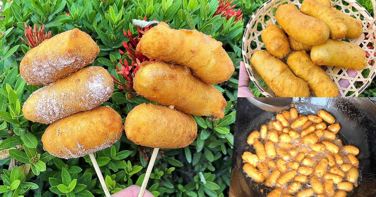 QQ蛋 地瓜球 阿力地瓜球 鳳山美食 小吃 散步美食 地瓜 必吃 甜點 排隊