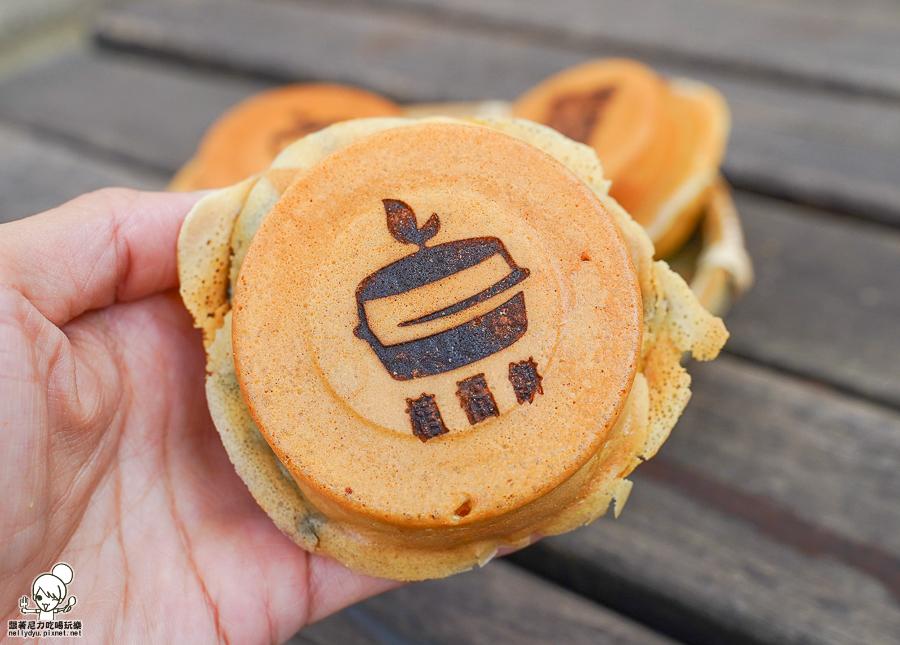 素食紅豆餅 車輪餅 植福餅 高雄美食 爆餡料 好吃 推薦 甜點 下午茶