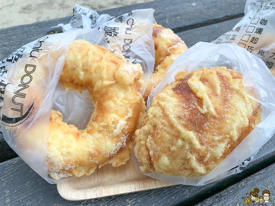 甜甜圈 甜點 下午茶 點心 脆皮甜甜圈 古早味 必吃
