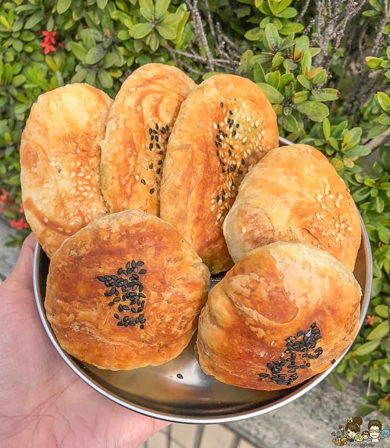 岡山美食 小吃 酥餅 燒餅 必吃 老字號 高雄美食 排隊 銅板 下午茶