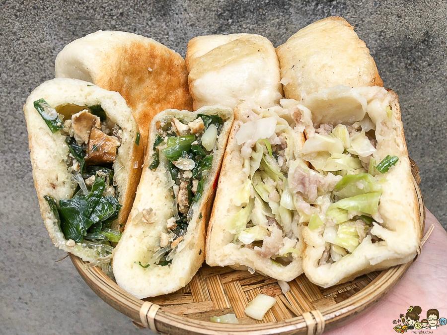 開封路水煎包 中正市場 美食 銅板小吃 銅板美食 下午茶 高雄美食 水煎包