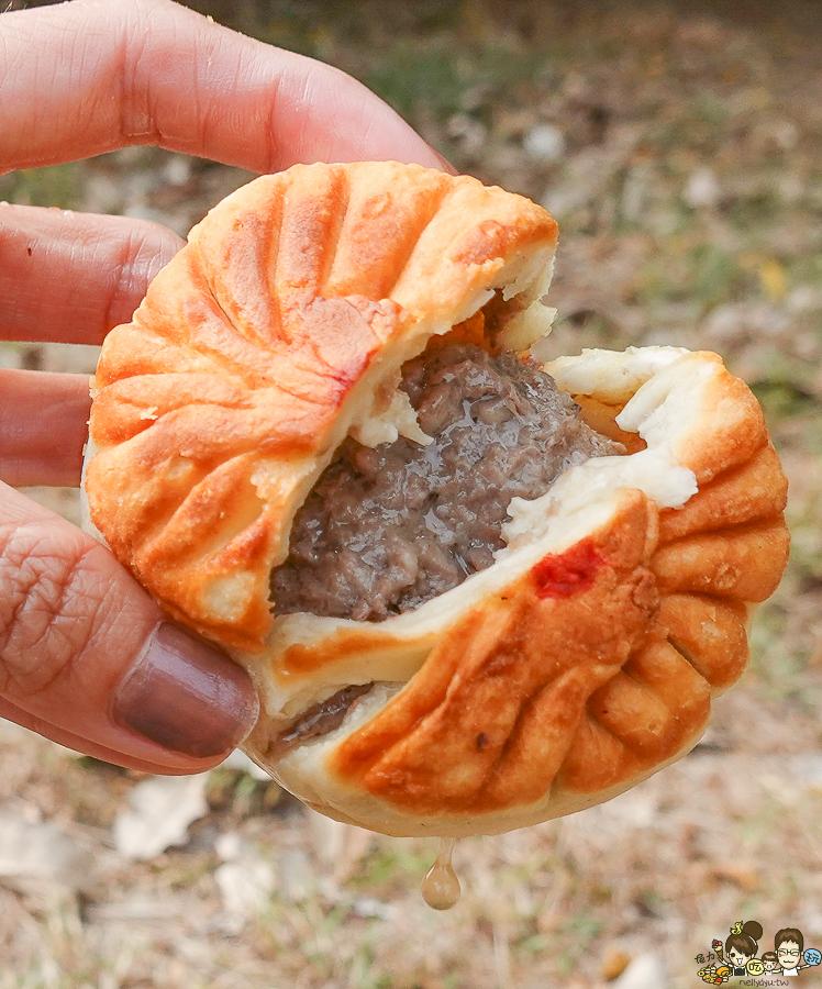 銅板下午茶 張記餡餅 崇德張記豬肉餡餅 韭菜盒、豬肉餡餅、牛肉餡餅、芋頭餅、蔥肉蛋餅
