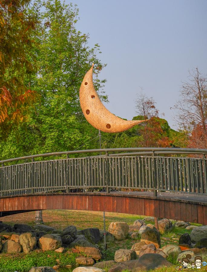 岡山燈會 籮筐會 岡山燈藝節 竹編 裝置 旅遊 免費 旅遊