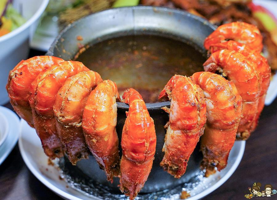 北高雄聚餐 熱炒 川菜 麻辣 泰國蝦 海鮮 鮮魚 獨門料理 細膩手法 高雄熱炒