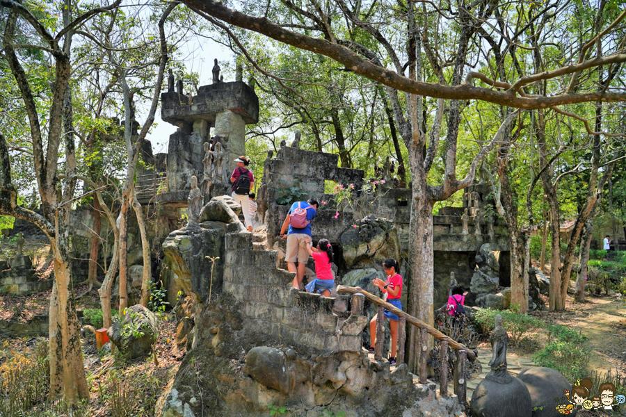 楠西萬佛寺 台南旅遊景點、台版吳哥窟.免費玩樂 台南好玩 親子 踏青 旅遊