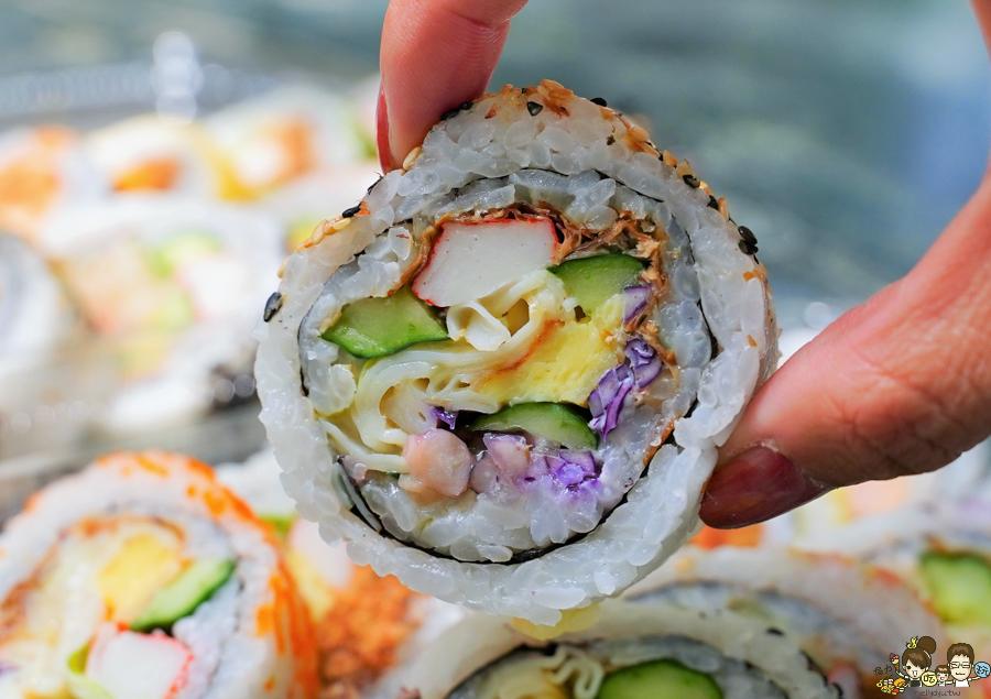 壽司 市場美食 陽明市場 阿杏壽司 高雄必吃 美食 巷弄 好吃 排隊美食