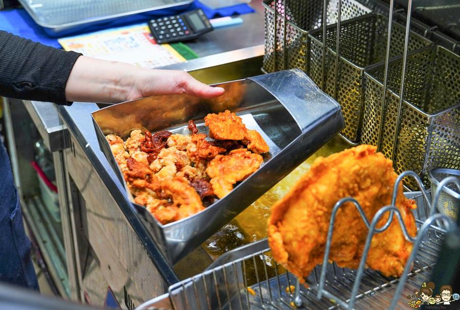 老來味 炸物 炸雞排 雞皮 高雄炸物 高雄必吃 高雄美食 排隊 超人氣 銅板 學生也愛 低調 巷弄美食
