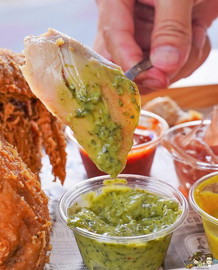 美式炸雞 炸物 漢堡 美式漢堡 炸全雞 聚餐 高雄美食 獨家 秘製 特色 好吃