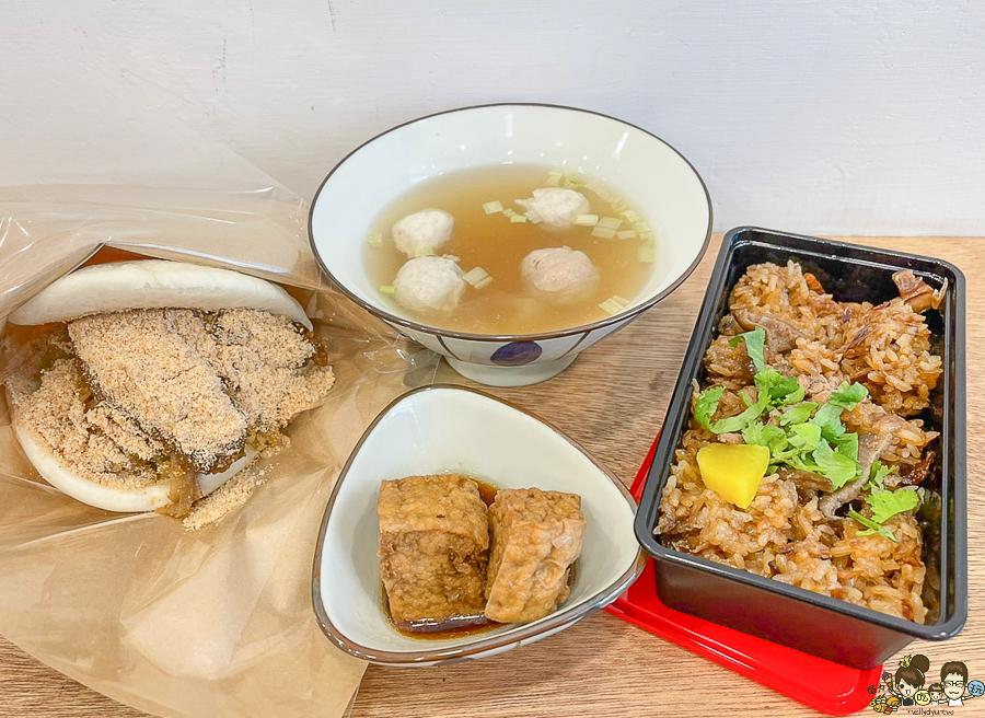 伍•伴 油飯 刈包 高雄美食 外送 外帶 好吃 湯 油飯 好吃 傳統