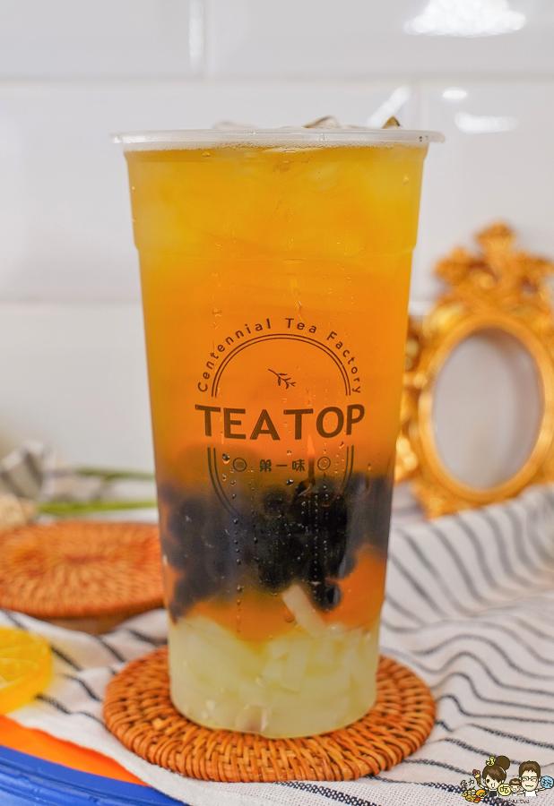 台灣好茶 手搖茶飲 必喝 高雄飲料 美食 TeaTop第一味 百年茶