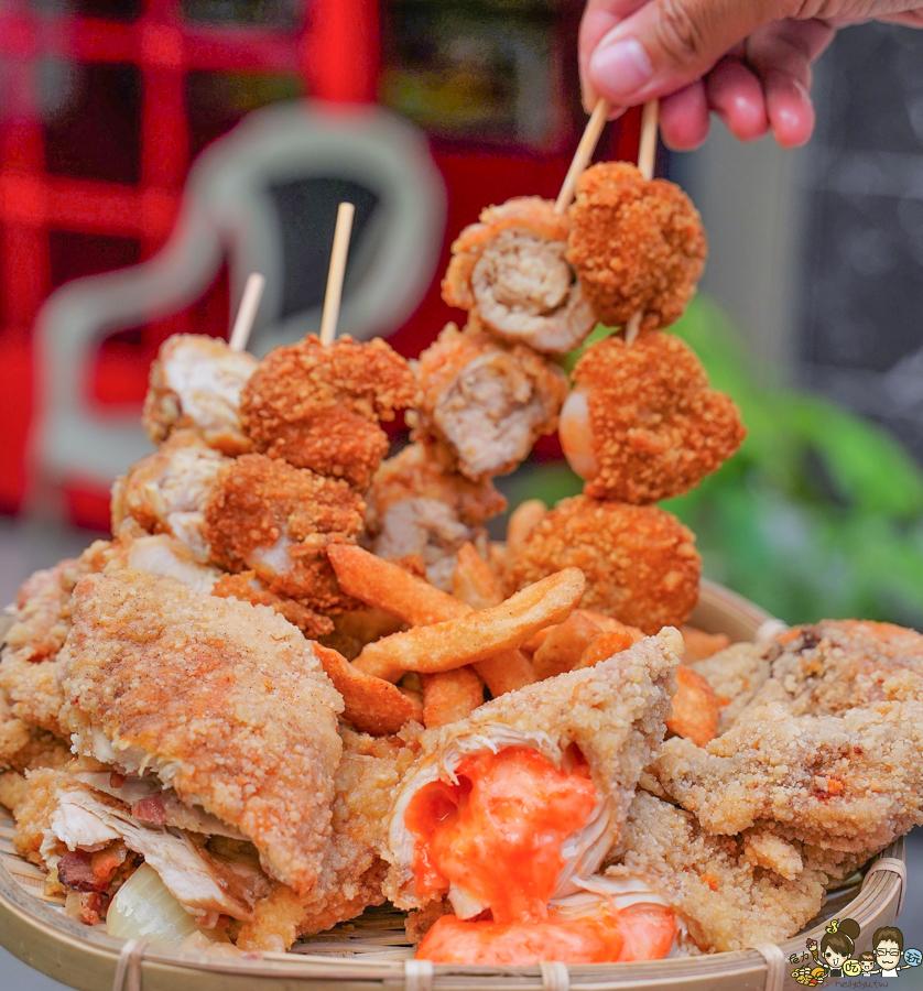 迷路炸物店 炸物 雞排 大雞排 高雄雞排 炸物 鹹酥雞 美食 高雄 光華夜市 必吃