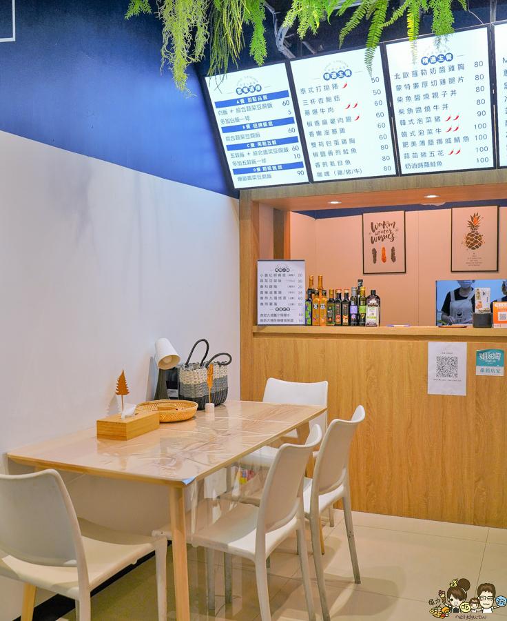 豆腐飯 艾波廚房 餐盒 健康 養生 營養 蛋白質 高雄必吃