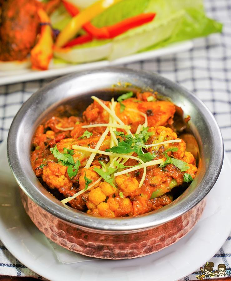 印度料理 高雄 印度烤餅 千層烤餅 咖哩 美食 必吃 巷弄 好吃 捷運美食 巨蛋