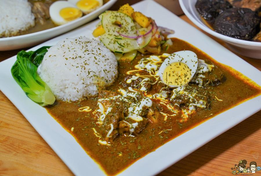 馬來西亞 南洋 咖哩 好吃 肉骨茶 麵食 聚餐 家庭聚會 哈馬星 鼓山 渡船頭美食