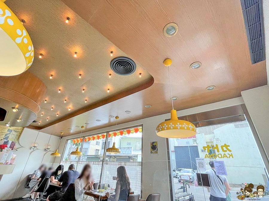 KADOYA喫茶店 甜點 蛋糕 下午茶 咖啡 台南 俗女 台南美食 必吃